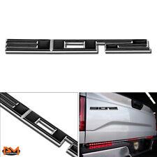 """302""Polished Metal 3D Decal Black&Silver Emblem For Ford/BMW/Mercury/LaForza"