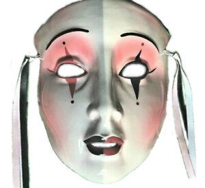 Clay Art Mask - San Francisco - Jester - Vintage 1980s