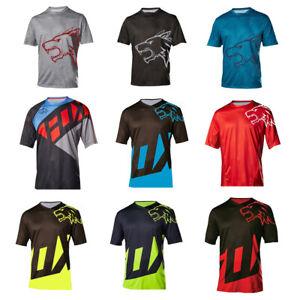 Cycling Jersey Men Summer Short Sleeve T-shirt Motorcycle Dirt Bike MX MTB Tops