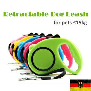 5 Meter Automatik Hundeleine 4 Farben Hunde Leine Katzenleine Hund Katze Welpen