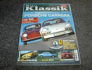Motor Klassik Zeitschrift Heft 1/2005 Porsche Carrera