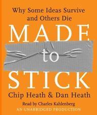 Made to Stick Chip and Dan Heath Audio Book 7-Disc CD 2007 Unabridged