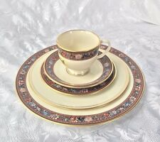 Lenox Presidential Witherspoon 5 Pc Place Setting w Stickers Plates Saucer Cup