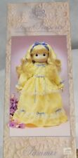 "Precious Moments Four Seasons Limited Edition Porcelain Bisque Doll ""Summer"""