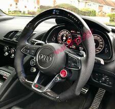 Audi R8 Gen 2 LED Carbon Fibre Steering Wheel - Customisable Options - 2016 V10+