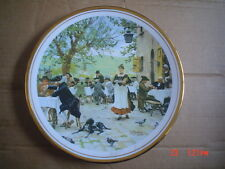 English Fine China Collectors Plate OSTERIA FIESOLE - INN AT FIESOLE
