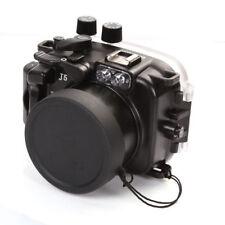 MeiKon 40m 130ft Underwater Waterproof Diving Housing Case For Nikon J5 10-30mm