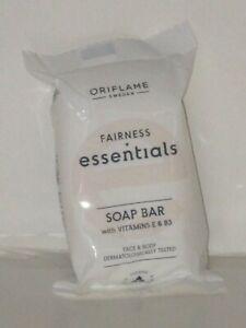 ORIFLAME SWEDEN ESSENTIALS FAIRNESS SOAP BAR (VITAMINS E & B3)  75 gr.  NEW!