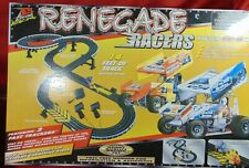 LL Renegade Racers Sprint Car Racing Set 2 Fast Trackers HO Scale Slot Cars NEW