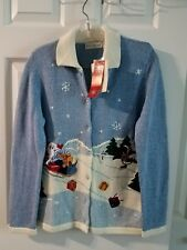 New White Stag Christmas Jacket Blue size S 4/6