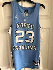 7bd4809cd64 Michael Jordan 23 Tar HEELS North Carolina Basketball Jersey Stitched Black  2xl
