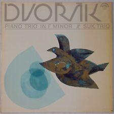DVORAK: Piano Trio SUK Supraphon STEREO NM- 1962 Import VINYL LP