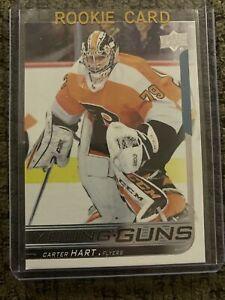 18/19 Upper Deck Series 2 Young Guns #491 Carter Hart Philadelphia Flyers