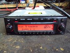 Harman/Becker Monza Radio CD Player Be 7887 MP3 BE7887 CD Spieler rot Display