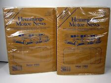 New Sealed 1988 Hemmings Motor News May & June Magazines Antique Auto Car Truck