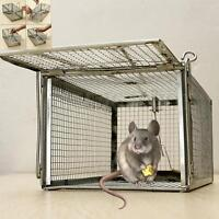 1/2/3/4Pcs Rat Catcher Spring Cage Trap Humane Live Animal Rodent Indoor