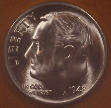 1948 S Roosevelt Dime CH BU LUSTER! 90% Silver US Coin