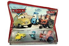 2006 Disney Cars Movie Moments Luigi, Guido & Tractor Diecast Set