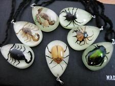 8pcs sea dragon scorpion carb angle spider ant spider light night mini pendants