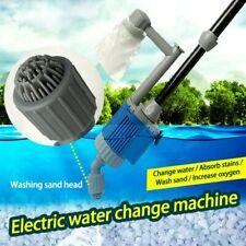 Electric Aquarium Fish Tank Water Change Pump Aquarium Cleaning Tools 28W 220V