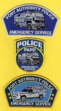 PORT AUTHORITY POLICE OF NEW YORK/NEW JERSEY EMERGENCY SERVICE UNIT PATCH SET