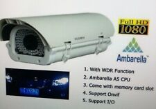 "License Plate Capture Camera Infrared Exmor 1/2.8"" Sony Hi-Speed Onvif Nvr 1080P"