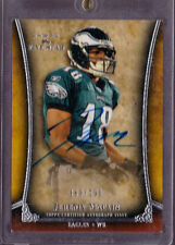 2011 Topps 5 Star Jeremy Maclin On Card Auto Not Rookie Card Serial # to 190