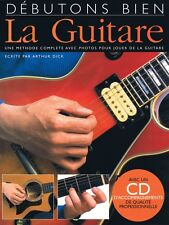 Debutons Bien: La Guitare - Absolute Beginners Guitar French Edition 014000945