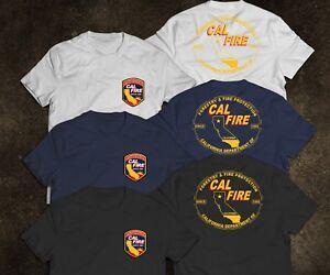 New California Firefighter Fire Department Rare Firearm US T-Shirt