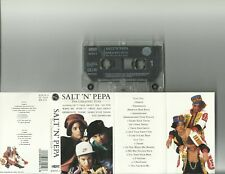 SALT 'N' PEPA - GREATEST HITS CASSETTE ALBUM