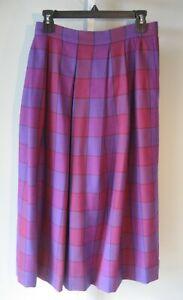 Vintage 80s \u201cSag Harbor\u201d pastel striped midi skirt