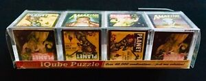 iQube Puzzle. Sci-Fi Amazing and Planet Stories Puzzle & For Shelf Display