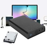 "USB3.0 TO SATA Hard Drive Disk External Enclosure 3.5"" HDD Case Box For 8TB GB"