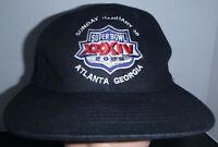 Super Bowl XXXIV 2000 Atlanta Ga. Rams vs Titans Vintage Snapback Hat Cap