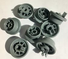 8 x DISHWASHER BASKET WHEELS fits HOTPOINT CREDA INDESIT AS P/N C00210742