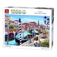 King Kng05362 City Venice Puzzle (1000-piece) - 1000 Jigsaw 1000piece