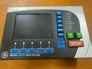 👀 GE GENERAL ELECTRIC MULTILIN MM300 MOTOR MANAGER CONTROL PANEL