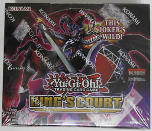 YUGIOH! KINGS COURT BOOSTER BOX (24 PACKS) 1st EDITION -  IN STOCK NOW