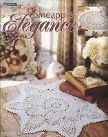 Pineapple Elegance Patricia Kristoffersen Doilies Crochet Pattern Book 2002