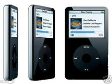 Custom 240 GB /256GB +2000mah Classic iPod Video 5th Generation Black 30 GB Thin