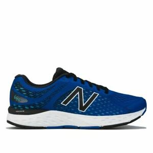 Men's New Balance 680 Performance Running Trainer Shoes in Blue
