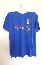"New Sonoma Men's T-Shirts ""France"", Blue, Size: XL"
