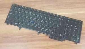 Hintergrund Beleuchtete ORIGINAL Keyboard Tastatur 0T1JMY MP-10H23U4J886 a E5520