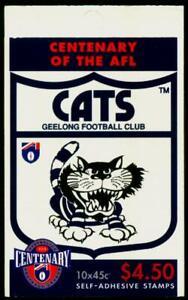 Australia MNH MUH - 1996 Centenary of AFL - Geelong Cats (Booklet)