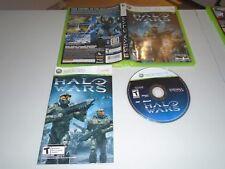 Halo Wars (Microsoft Xbox 360, 2009) - Complete, CIB, Mint!