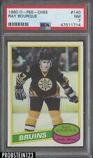 1980 O-PEE-CHEE OPC Hockey #140 Ray Bourque Bruins RC Rookie HOF PSA 7 NM