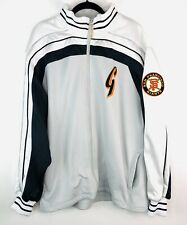 San Francisco Giants Majestic Authentic Collection White Jacket Size XL Mens