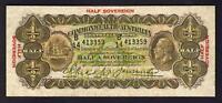 Australia R-7. (1928) Riddle/Heathershaw - 10 Shillings. Geo V Portrait.  gFine