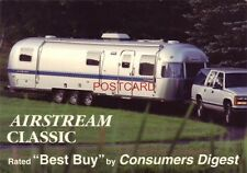 """Continental-size AIRSTREAM CLASSIC Rated """"Best Buy"""" by Consumers Digest"""