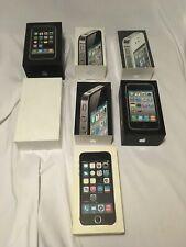 iPhone Box Lot 3G 3GS 4 4S 5S 6 (Empty Boxes Only)